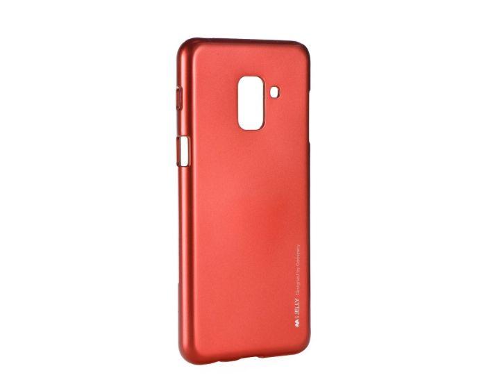 Mercury i-Jelly Slim Fit Case Θήκη Σιλικόνης Red (Samsung Galaxy A8 Plus 2018)
