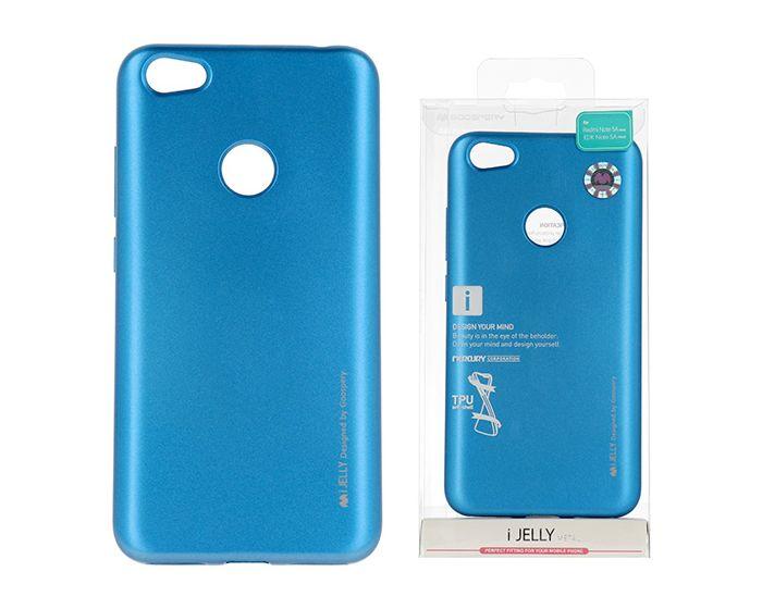 Mercury i-Jelly Slim Fit Case Θήκη Σιλικόνης Blue (Xiaomi Redmi Note 5A Prime)