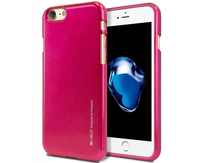Mercury i-Jelly Slim Fit Case Θήκη Σιλικόνης Hot Pink (iPhone 7 / 8 / SE 2020)