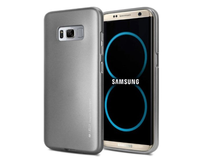 Mercury i-Jelly Slim Fit Case Θήκη Σιλικόνης Grey (Samsung Galaxy S8 Plus)
