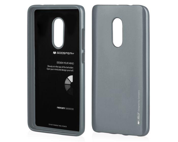 Mercury i-Jelly Slim Fit Case Θήκη Σιλικόνης Grey (Xiaomi Redmi 5 Plus)