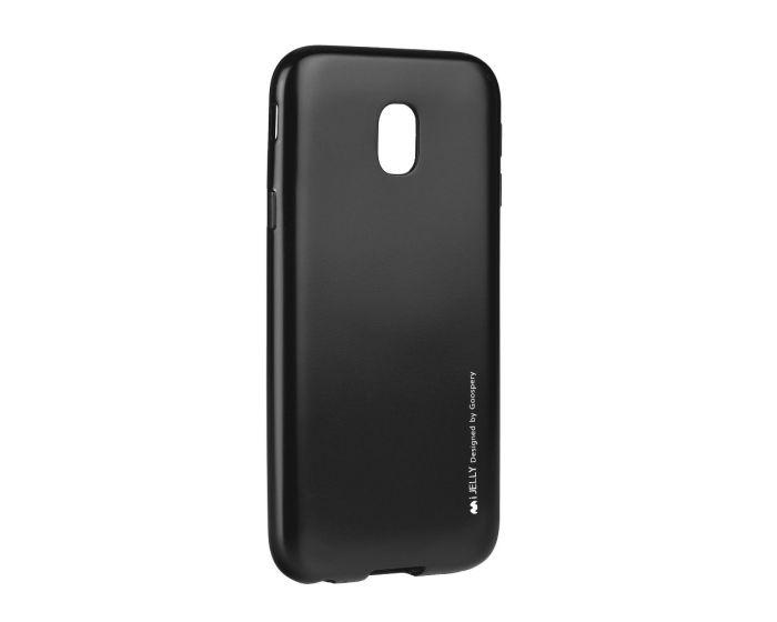 Mercury i-Jelly Slim Fit Case Θήκη Σιλικόνης Black (Samsung Galaxy J7 2017)