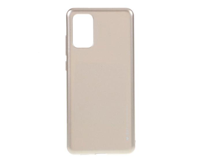Mercury i-Jelly Slim Fit Case Θήκη Σιλικόνης Gold (Samsung Galaxy S20 Plus)