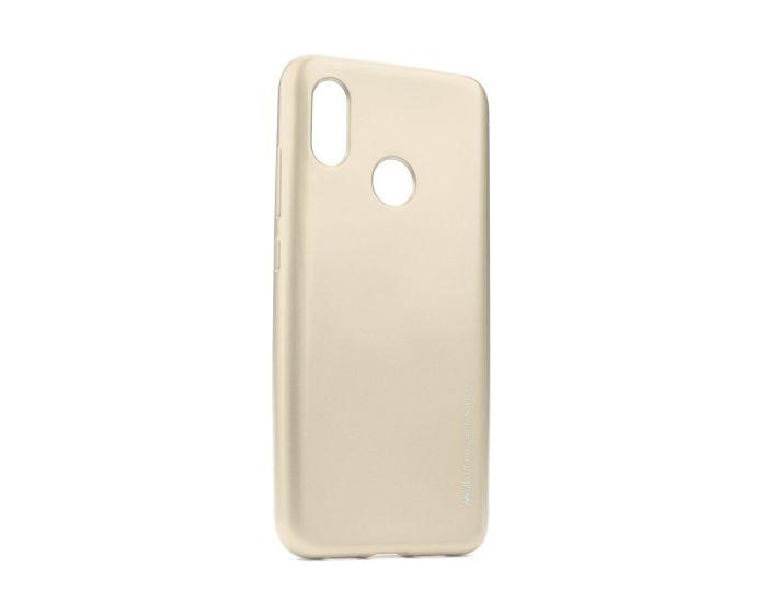 Mercury i-Jelly Slim Fit Case Θήκη Σιλικόνης Gold (Xiaomi Mi8)