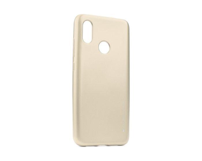 Mercury i-Jelly Slim Fit Case Θήκη Σιλικόνης Gold (Xiaomi Mi A2 Lite / Redmi 6 Pro)