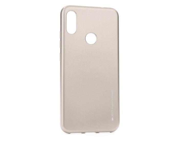 Mercury i-Jelly Slim Fit Case Θήκη Σιλικόνης Gold (Xiaomi Redmi 7)
