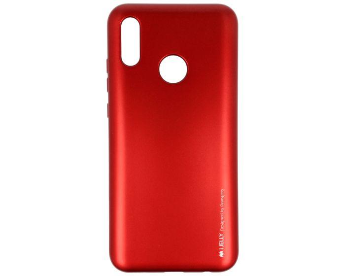 Mercury i-Jelly Slim Fit Case Θήκη Σιλικόνης Red (Huawei Y6 2019)