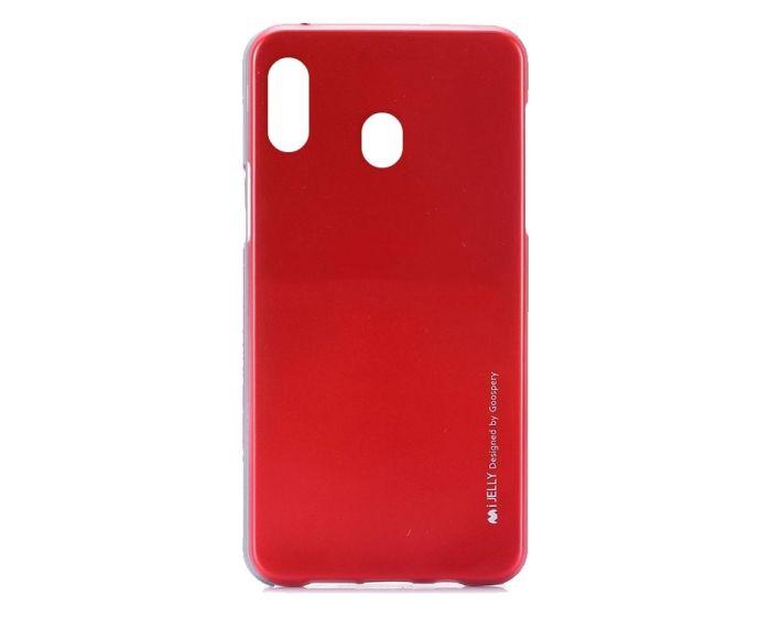 Mercury i-Jelly Slim Fit Case Θήκη Σιλικόνης Red (Samsung Galaxy A20e)