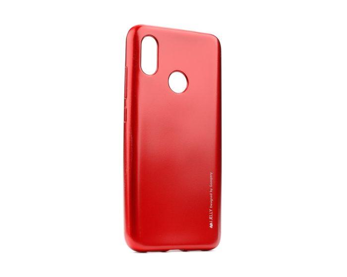 Mercury i-Jelly Slim Fit Case Θήκη Σιλικόνης Red (Xiaomi Mi8)