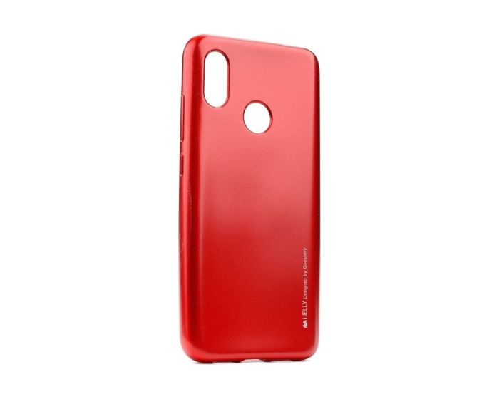 Mercury i-Jelly Slim Fit Case Θήκη Σιλικόνης Red (Xiaomi Mi A2 Lite / Redmi 6 Pro)
