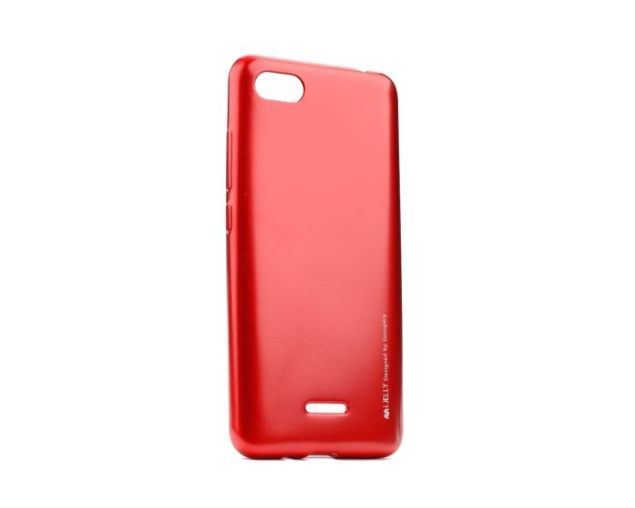 Mercury i-Jelly Slim Fit Case Θήκη Σιλικόνης Red (Xiaomi Redmi 6)