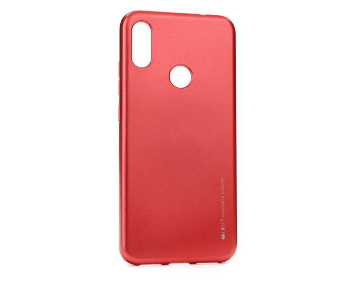 Mercury i-Jelly Slim Fit Case Θήκη Σιλικόνης Red (Xiaomi Redmi 7)