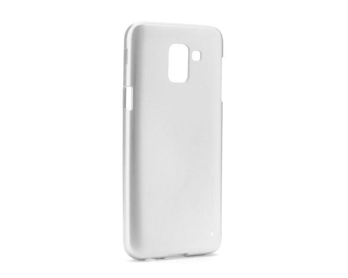 Mercury i-Jelly Slim Fit Case Θήκη Σιλικόνης Silver (Samsung Galaxy J6 2018)