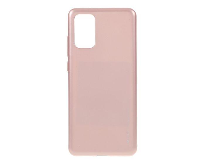 Mercury i-Jelly Slim Fit Case Θήκη Σιλικόνης Rose Gold (Samsung Galaxy S20 Plus)