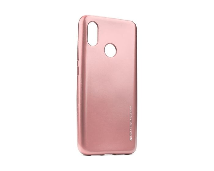 Mercury i-Jelly Slim Fit Case Θήκη Σιλικόνης Rose Gold (Xiaomi Mi A2 Lite / Redmi 6 Pro)