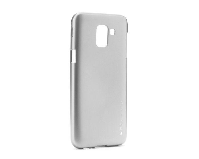 Mercury i-Jelly Slim Fit Case Θήκη Σιλικόνης Grey (Samsung Galaxy J6 2018)