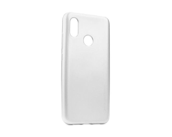 Mercury i-Jelly Slim Fit Case Θήκη Σιλικόνης Silver (Xiaomi Mi8)