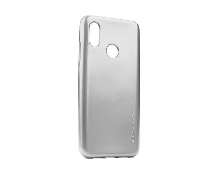 Mercury i-Jelly Slim Fit Case Θήκη Σιλικόνης Silver (Xiaomi Mi A2 Lite / Redmi 6 Pro)