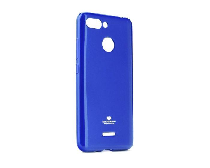 Mercury Jelly Slim Fit Case Θήκη Σιλικόνης Blue (Xiaomi Redmi 6)