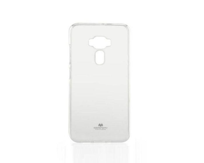 Mercury Jelly Slim Fit Case Θήκη Σιλικόνης Διάφανη (Asus Zenfone 3 ZE 552KL)