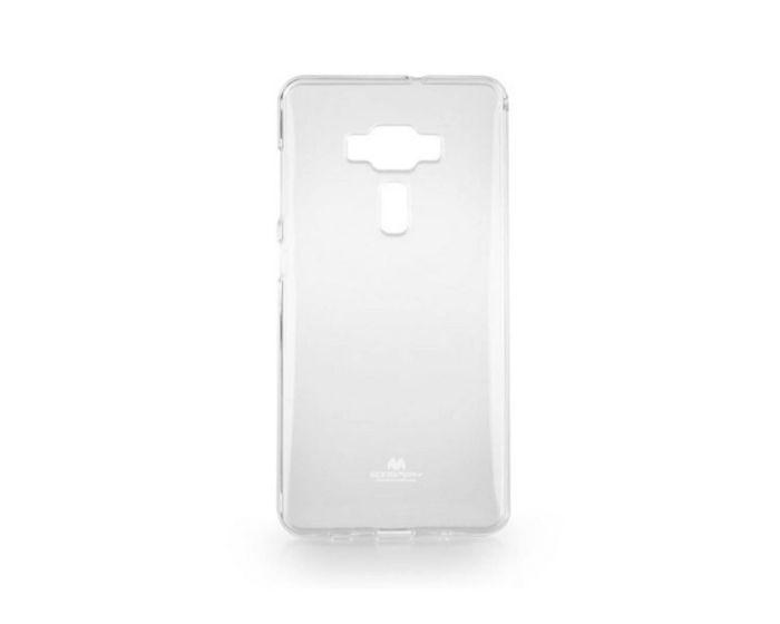 Mercury Jelly Slim Fit Case Θήκη Σιλικόνης Διάφανη (Asus Zenfone 6 Deluxe ZS570KL)