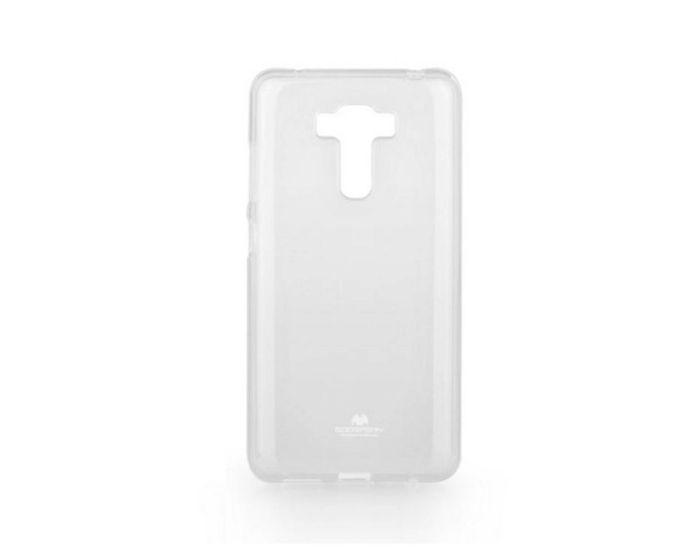 Mercury Jelly Slim Fit Case Θήκη Σιλικόνης Διάφανη (Asus Zenfone 6 Laser ZC551 KL)