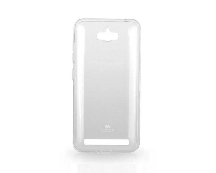 Mercury Jelly Slim Fit Case Θήκη Σιλικόνης Διάφανη (Asus Zenfone Max ZC550KL)