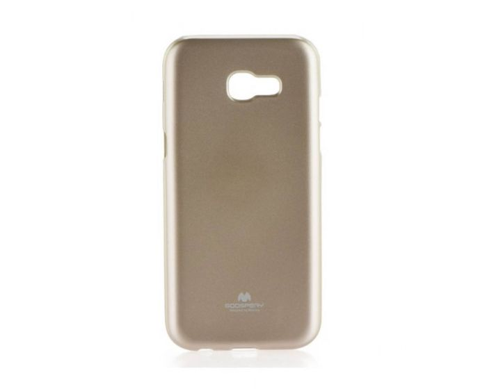 Mercury Jelly Slim Fit Case Θήκη Gel Gold (Samsung Galaxy A3 2017)