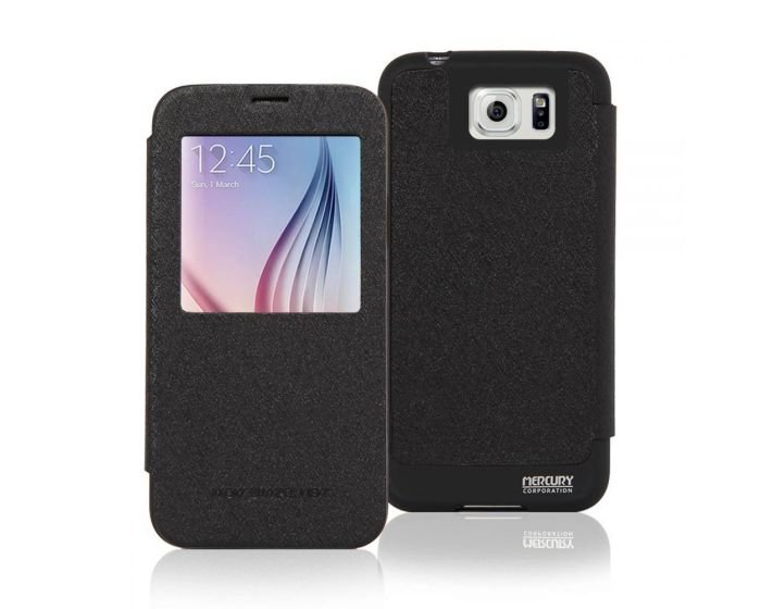 Mercury WOW Quick Cover Case - Μαύρη (Samsung Galaxy S7)