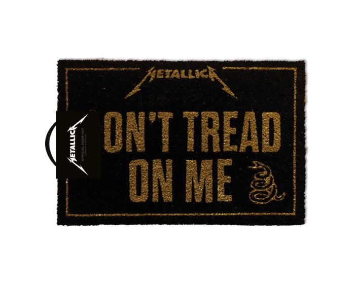 Metallica (Don't Tread On Me) Door Mat - Πατάκι Εισόδου 40x60cm