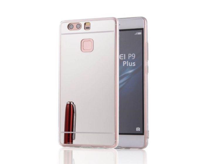 Forcell Mirror Slim Fit Gel Case Θήκη Σιλικόνης Silver (Huawei P9)
