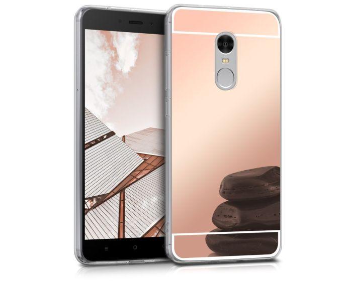 KWmobile Mirror Slim Fit Gel Case (44282.41) Θήκη Σιλικόνης Rose Gold (Xiaomi Redmi Note 4 / 4X)