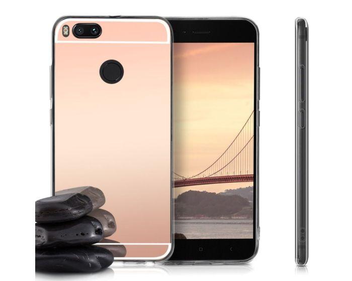 Forcell Mirror Slim Fit Gel Case Θήκη Σιλικόνης Rose Gold (Xiaomi Mi A1 / 5X)