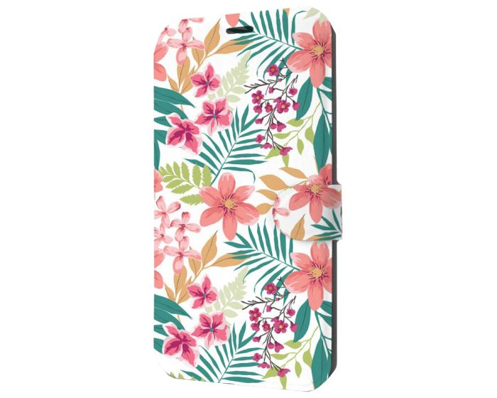 Mobiwear Book Stand Case Θήκη (M125S) Summer Flowers (Xiaomi Redmi 9)