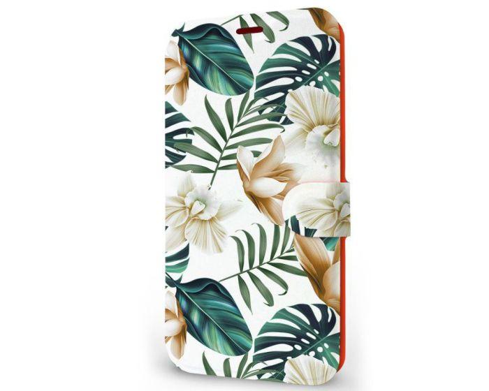 Mobiwear Book Stand Case Θήκη (MC07P) Palm Leaves (Samsung Galaxy A21s)