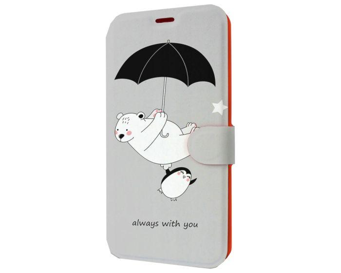 Mobiwear Book Stand Case Θήκη (MH08P) Sweet (Xiaomi Redmi Note 9s / 9 Pro / 9 Pro Max)