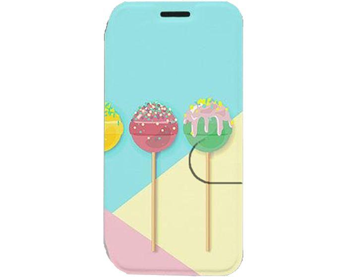 Mobiwear Book Stand Case Θήκη (MX12S) Lollipop (Samsung Galaxy A21s)