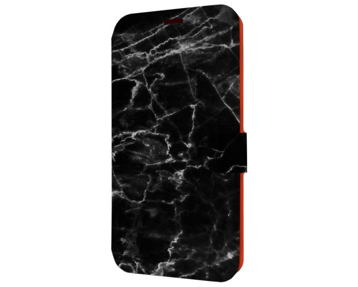 Mobiwear Book Stand Case Θήκη (V056P) Marble (Samsung Galaxy A21s)