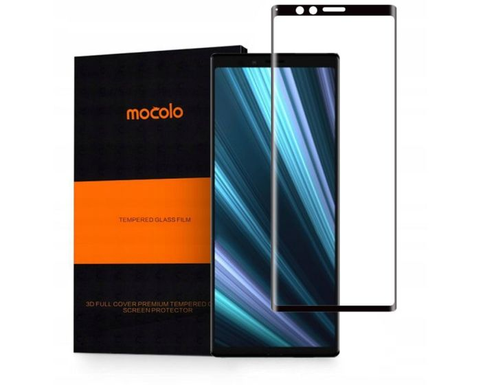 Mocolo 3D Full Face Curved Black Αντιχαρακτικό Γυαλί 9H Tempered Glass (Sony Xperia 1)