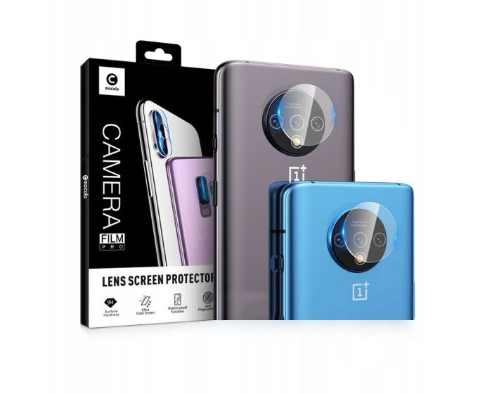 Mocolo TG+ Camera Lens Tempered Glass Film Prοtector (OnePlus 7T)