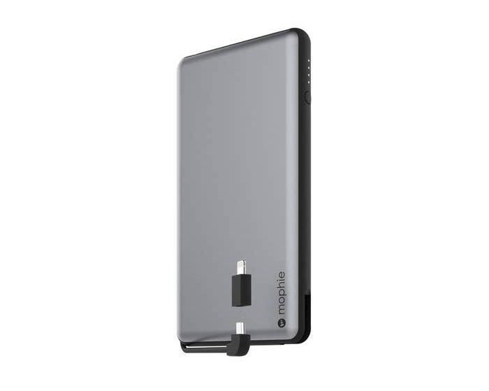 Mophie Powerstation Plus XL Power Bank Μπαταρία 12000mAh with Switch-tip Connector - Space Gray