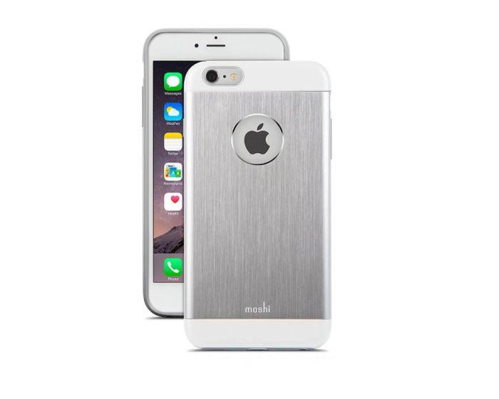 Moshi iGlaze Armour Jet Silver 99MO079201  - (iPhone 6 / 6s)