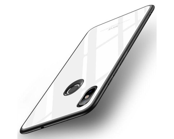 MSVII Glass TPU Case White (Xiaomi Mi8)