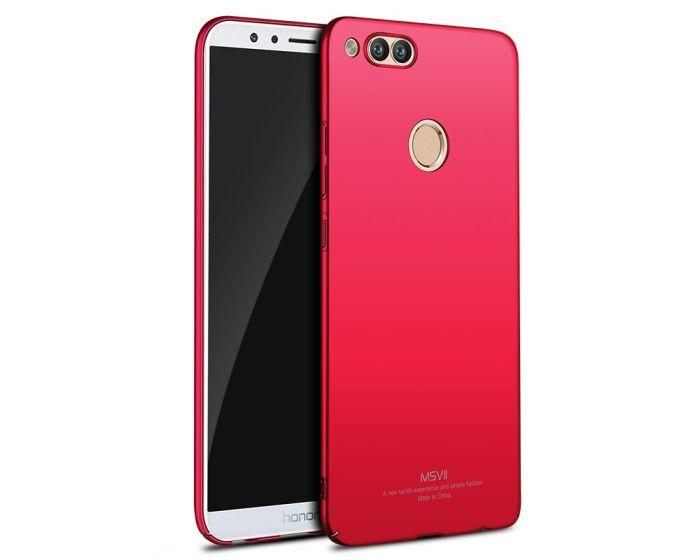 MSVII Σκληρή Θήκη PC - Red (Huawei Honor 7X)