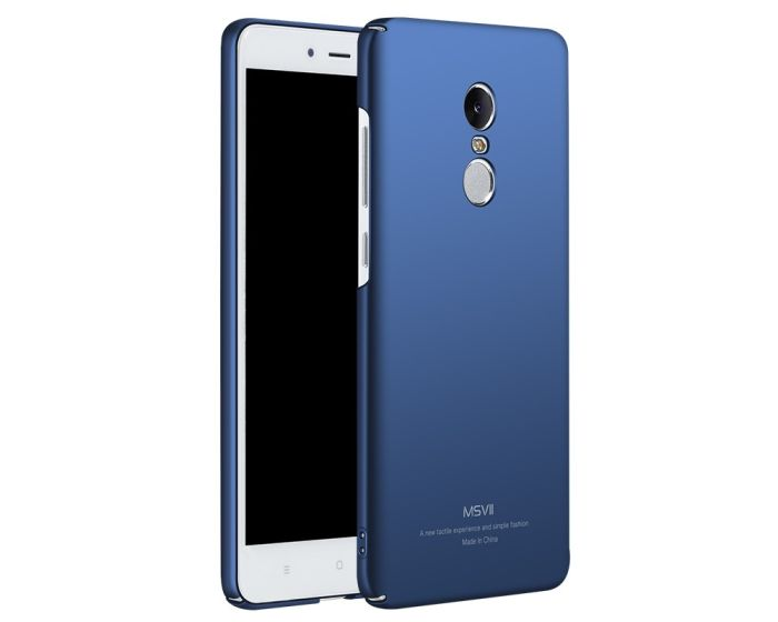 MSVII Σκληρή Θήκη PC - Blue (Xiaomi Redmi Note 4 MediaTek)