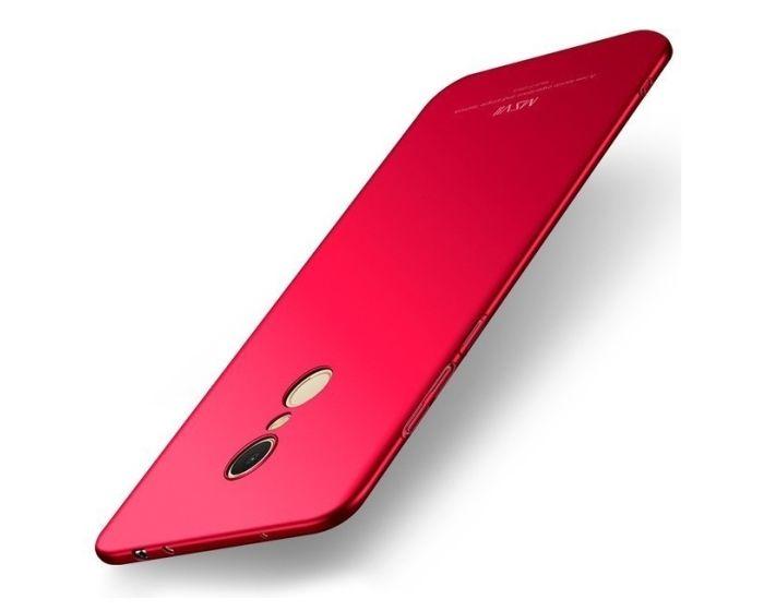 MSVII Σκληρή Θήκη PC - Red (Xiaomi Redmi 5)