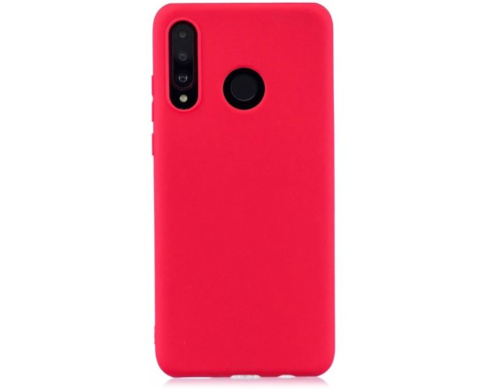 My Colors Original Liquid Silicone Case Θήκη Σιλικόνης Red (Huawei P40 Lite E)