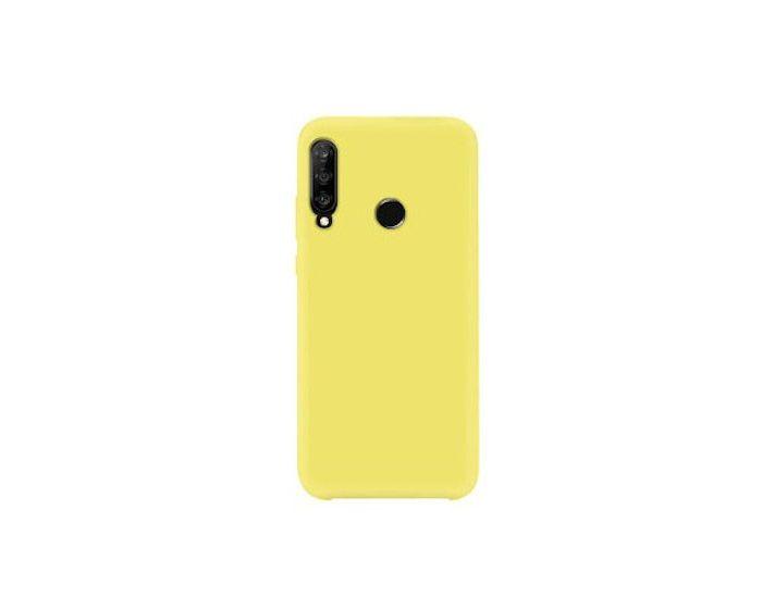 My Colors Original Liquid Silicone Case Θήκη Σιλικόνης Yellow (Huawei P40 Lite E)