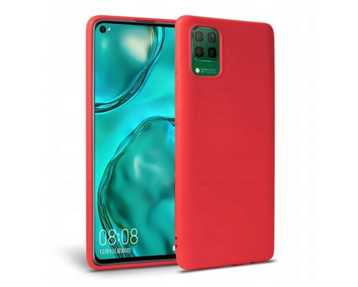 My Colors Original Liquid Silicone Case Θήκη Σιλικόνης Red (Huawei P40 Lite)