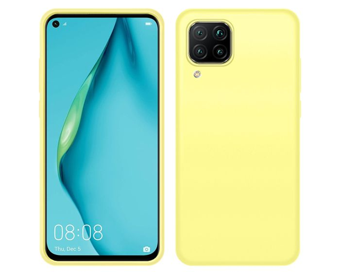 My Colors Original Liquid Silicone Case Θήκη Σιλικόνης Yellow (Huawei P40 Lite)
